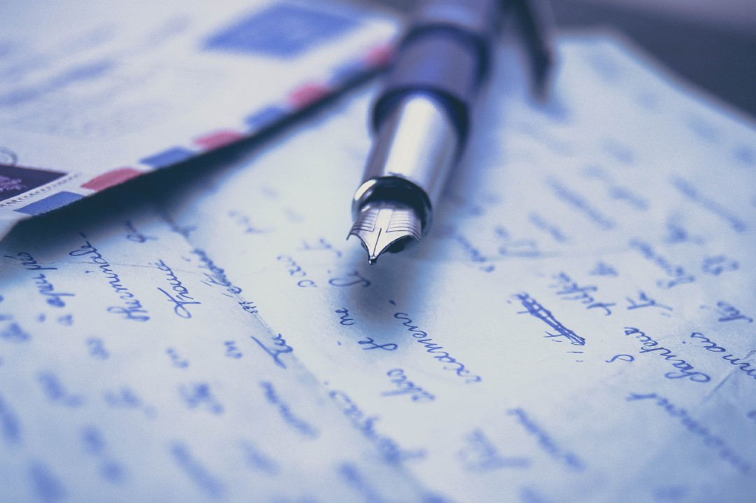 Classic hand-written business communication is in decline. Photo: iStock