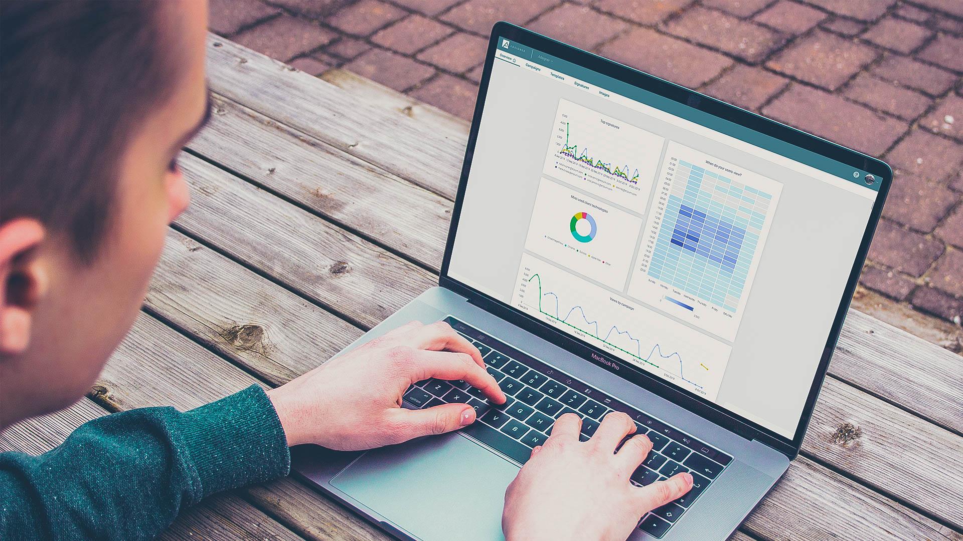 AdSigner in Google Analytics