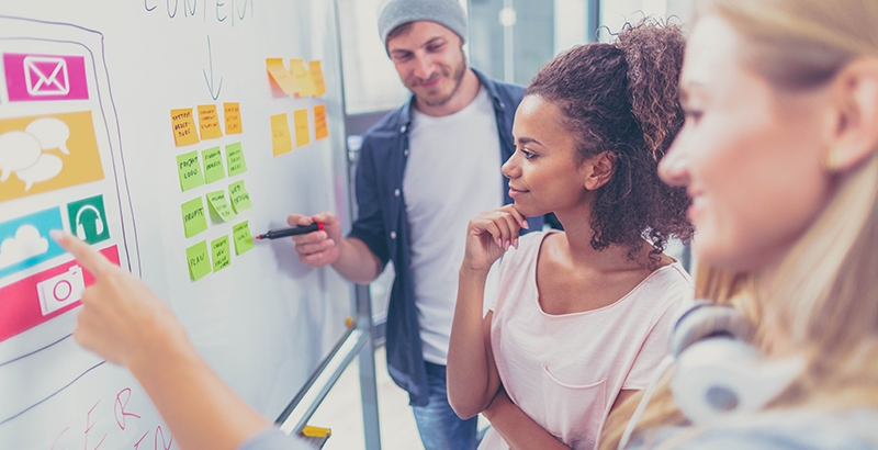 Choose one of financially less challenging advertising options available to startups and start you business grow. Photo: iStock
