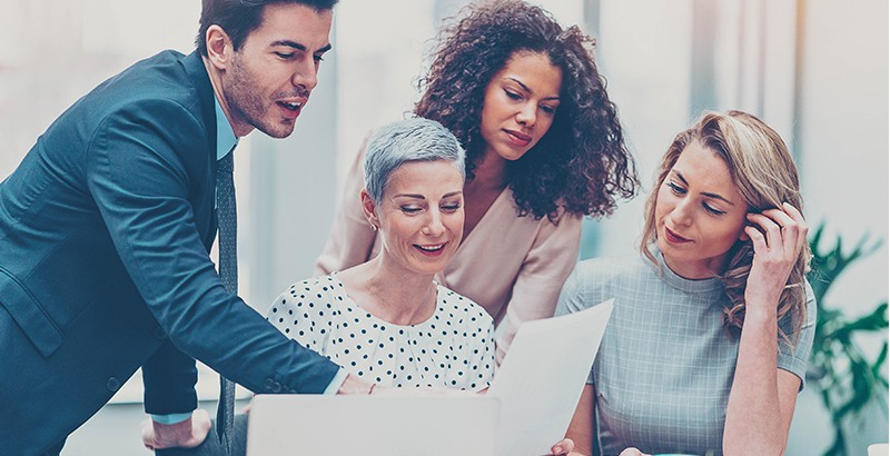 With the help of AdSigner sales manager can quickly and easily fit the email signature of every sales staff member. Photo: iStock