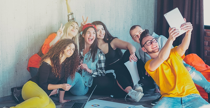 With AdSigner you can engage millennials dynamically in the work process. Photo: iStock