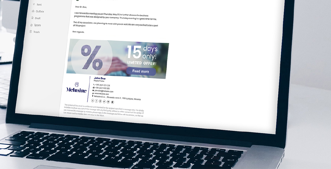 AIt is important to know the amazing benefits of adding links to the banners inserted in your email signature, to excel your marketing in today's cost-conscious environment. Photo: AdSigner