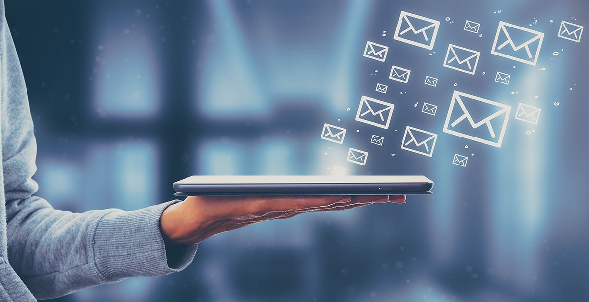Usual secretary can achieve over 10,000 e-mail views in a month. Photo: iStock