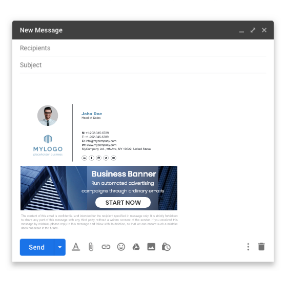 Get to know the email signature generator