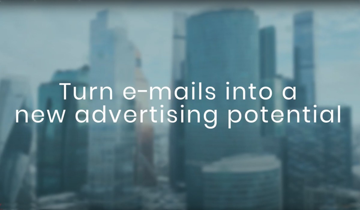 Email, upgraded with AdSigner service, empowered by a professional email signature containing the banner ad.
