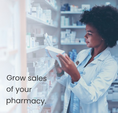 Grow sales of your pharmacy